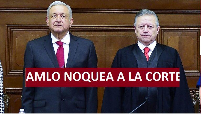 AMLO NOQUEA A LA SUPREMA CORTE